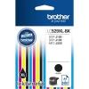 Картридж Brother LC529XLBK, чёрный, купить за 680руб.