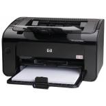 лазерный ч/б принтер HP LaserJet Pro P1102w  RU ABC