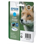 картридж для принтера Epson T1282 Лиса Cyan