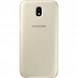 чехол для смартфона Samsung для Galaxy J5 (2017) Wallet Cover золотистый