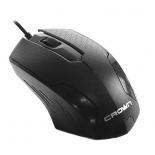 мышка Crown CMM-100 черная