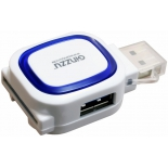 устройство для чтения карт памяти Ginzzu GR-514UB, бело-синий