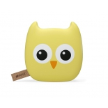 аксессуар для телефона Внешний аккумулятор Hiper Zoo Owl 7500мAч, желтый