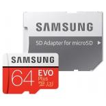 карта памяти Samsung MB-MC64GA/RU (с SD-адаптером)