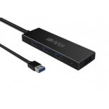 USB-концентратор Hiper C5, черный