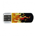 usb-флешка Verbatim Store 'n' Go Mini Elements Fire 8Gb, оранжевая