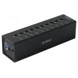 USB-концентратор Orico 10-Port USB3.0 HUB, черный