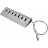 USB-концентратор VCom DH317, серебристый