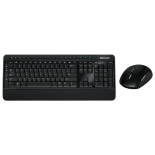 комплект Microsoft Wireless Desktop 3050, Черный