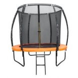батут спортивный DFC Kengoo 6FT-TR-E, оранжево-черный
