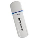 usb-флешка Transcend JetFlash 620 8Gb, бело-синяя
