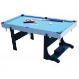 стол бильярдный Стол - пул Weekend Biliard Team I, 5 ф (черный)