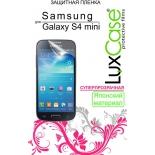 защитная пленка для смартфона LuxCase  для Samsung Galaxy S4 mini, i9190  (Суперпрозрачная), 121х58 мм