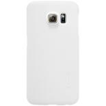 чехол для смартфона Nillkin Super frosted shield для Samsung Galaxy S6 Edge Белый