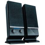 компьютерная акустика Oklick OK-115U 2.0, черный 6Вт портативные