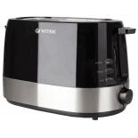 тостер VITEK VT-1584 BK черно-серебристый