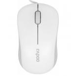 мышка Rapoo N1130 (USB, 1000 dpi), белая