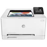 принтер лазерный ч/б HP Color LaserJet Pro M252dw, белый