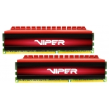 модуль памяти DDR4 16Gb 2800MHz Patriot 2*8Gb VIPER 4 PV416G280C6K