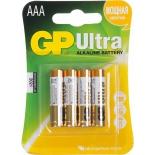 Батарейка батарея GP Ultra/Super 24AU / 24A-4 (LR03) Size AAA, щелочной (alkaline), купить за 365руб.