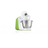 Кухонный комбайн Bosch MUM54G00, белый/зеленый