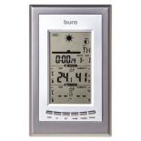 метеостанция Buro H209G, серебристая