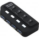 USB-концентратор Orient BC-306PS, черный