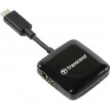 устройство для чтения карт памяти Transcend TS-RDC2K, черный