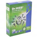 программа-антивирус DR.Web Security Space Pro (3 ПК/1 год)