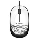 Мышь Logitech Mouse M105, Белая (910-002944), купить за 860руб.