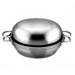сковорода Классика-прима, Серебристая