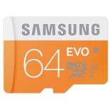 карта памяти SAMSUNG MicroSDXC 64Gb, class10, UHS-I, SD-адаптер
