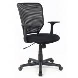 компьютерное кресло COLLEGE H-8828F (ткань, сетчатый акрил, чёрное)