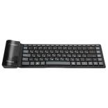клавиатура CROWN CMK-6001 (88 кнопок, силиконовая, Bluetooth, 2xAAA)