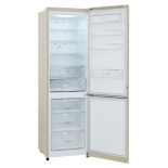 холодильник LG GA-B489SEQZ бежевый