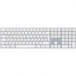 клавиатура Apple Magic Keyboard with Numeric Keypad- Russian(MQ052RS-A) белая