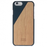 чехол iphone NativeUnion iPhone 6/6S черный/деревянный