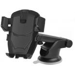держатель Wiiix HT-25T-IRON черный, пластик