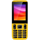 сотовый телефон Vertex D503, желтый