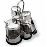 посуда Набор для специй с салфетницей VITESS VS-1253