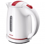 чайник электрический Philips HD 4646/40 белый с красным