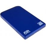 корпус для жесткого диска AgeStar SUB2O1 (2.5'', miniUSB 2.0), синий