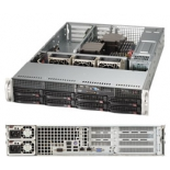 Серверная платформа SuperMicro SYS-6028R-WTR (2U, 2xCPU, 8xHDD)