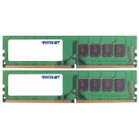 модуль памяти Patriot Memory PSD48G2400K (2x 4Gb, DDR4 DIMM, 2400MHz, CL16)