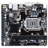 материнская плата Gigabyte GA-H110M-S2V DDR3 rev.1.0 (mATX, LGA1151, Intel B150, 2x DDR3)