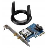 адаптер Wi-Fi ASUS PCE-AC55BT, черный-синий