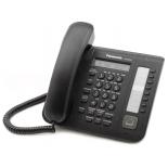 проводной телефон Panasonic KX-DT521RU, Черный