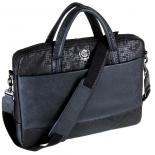 сумка для ноутбука Continent CC-037 чёрная, 15.6-16