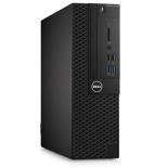 фирменный компьютер Dell Optiplex 3050 SFF i3 6100 (3.7)/4Gb/500Gb 7.2k/HDG530/DVDRW/Linux/Eth/180W/клавиатура/мышь/черн