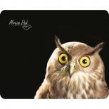коврик для мышки Dialog PM-H15 owl, черный